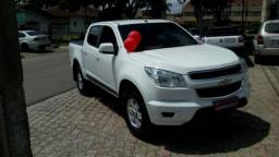 CHEVROLET S-10 CD LT 4X2 2.4 8V FLEXPOWER Branco 2014/2014 - 2014