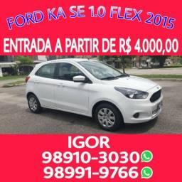 Imperdível! Oferta!! Ford Ka SE 1.0 FLEX 2015, falar com Igor - 2015