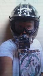 Capacete esportivo motocross ou para moto normal