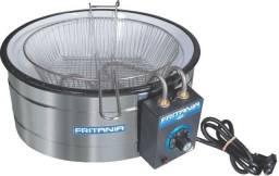 Fritadeira tacho eletrica 7 litros (nova) Alecs