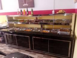 Balcões Self service direto do fabricante, para restaurante,buffet e outros