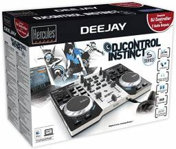 Controladora DJ Control Instinct S Series, Hercules, 4780833, Preto/ Prata