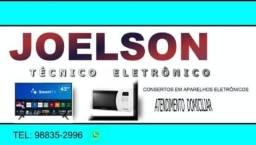 Consertos de TVs, celular,notebook, ventilador