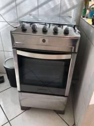 Fogão Brastemp inox