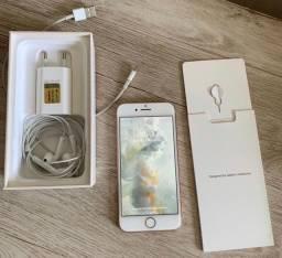 IPhone 8 dourado 64 gigas na garantia aceito cartão