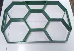 Forma para bloquete bloco sextavado tijolinho