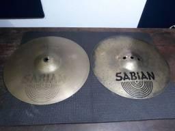 "Vendo prato chimbal Sabian AA Fusion Hats 13"""