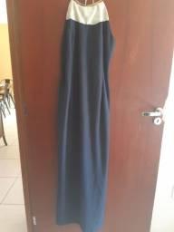 Vestido de festa - Azul Marinho