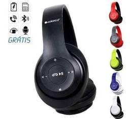 Fone de Ouvido Altomex B-16 Bluetooth Reprodução de Músicas