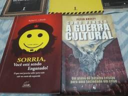 Livros bem conservados valor individual na descrição