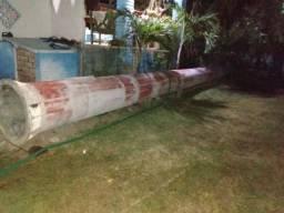 Poste de aço galvanizado