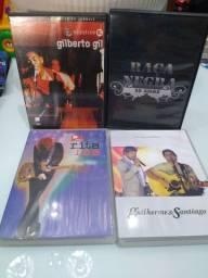 DVD's diversos shows Nacionais