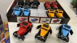 Miniaturas de carros nacionais e importados
