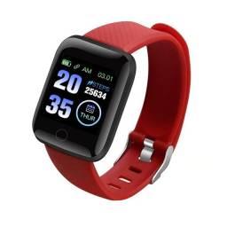 Relogio Smartwatch Inteligente Feminino Masculino Bluetooth Android IOS Smart Whatsapp