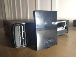 X box 360 + 2 controles + 1 Kinect + HD 250 GB e 16 jogos