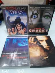 DVD's filmes diversos - Terror