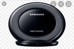 Óculos de realidade virtual e carregador por indução Samsung