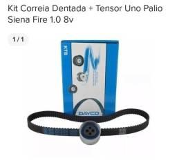 Kit Correia Dentada + Tensor Uno Palio Siena Fire 1.0 8v original