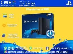 Playstation 4 PRO,Novo lacrado garantia 1 ano,somos loja física-PS4