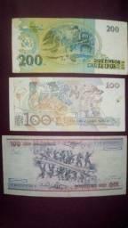 Vende-se cédula Antiga bem conservada valor a partir de R$3 reais