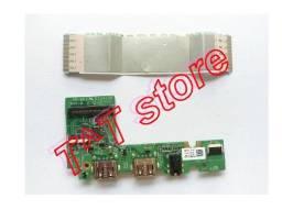 Placa de Audio e USB - Notebook Dell Inspiron 11 3168