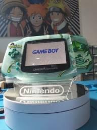 Título do anúncio: Game Boy Advance Original Edição Bulbasaur Ips v2