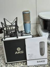 Microfone Condensador AKG P420 Perception