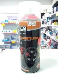 Spray Envelopamento Líquido Vermelho