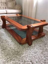 Vendo mesa de centro e lateral