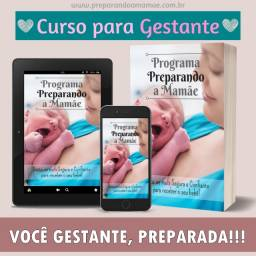 É Gestante? Curso Online para Gestantes Preparando a Mamãe