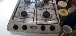 Tá com registro fogão novo de balcão não tem forno