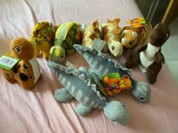 Pelúcias tema Dinossauros quarto bebê