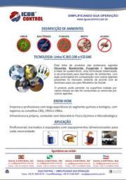 Desinfecção de ambinetes COVID-19