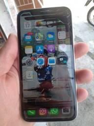 Título do anúncio: iPhone xr tela trincada