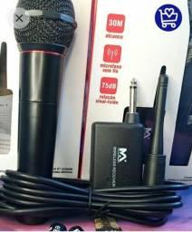 *Microfone Maximidia Sem Fio *
