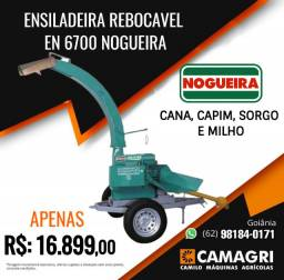 Ensiladeira EN 6700 Nogueira Rebocavel c/ pneus