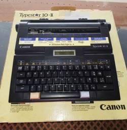 Máquina de escrever elétrica da Canon