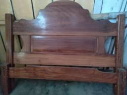 Vendo cama de madeira ype