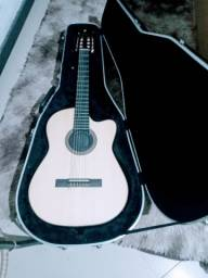 Título do anúncio: Violão Rozini flat r$ 1600 reais ,pra vender logo, novo acompanha case Eagle r