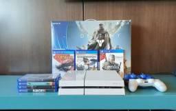 Playstation 4 Edição Exclusiva Glacier White - 500 Gb