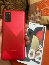 Samsung A02s 32GB NOVOS Lacrados Aceito Cartão