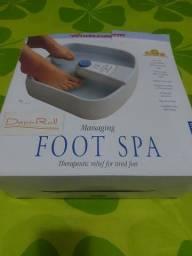 Título do anúncio: Bacia de massagem para os pés