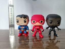 Bonecos Estilo Funko Marvel e DC