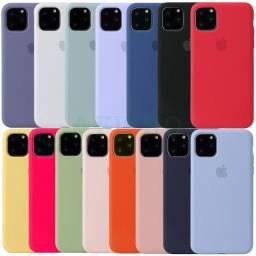 Capa Case silicone modelos Iphone 11,11 Pro,11 ProMax,12, 12 Mini,12 Pro,12 ProMax
