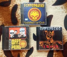 Desapegando cds originais offspring<br>