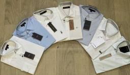 Camisa social - diversas marcas - P ao GG