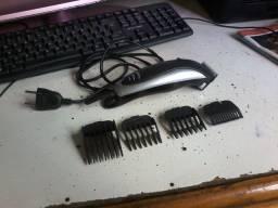 maquina de cortar cabelo malory completa