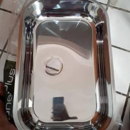 Pia em inox , marca gheoplus a pronta entrega,  valor 148,00 ,59 cm