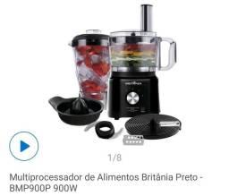 Multiprocessador processador de alimentos Britânia na caixa.. nunca usado!!