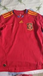 Camisa Espanha Adidas 2010 M